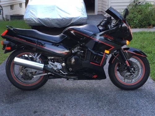 1988 Kawasaki Ninja Black for sale