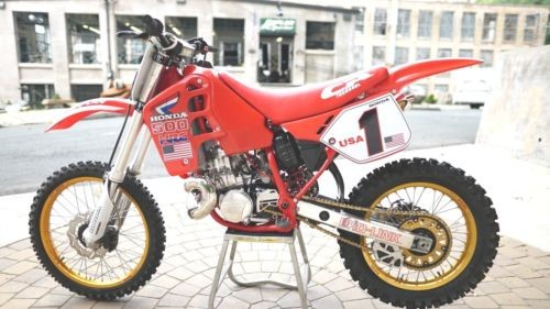 1989 Honda CR HRC RED for sale
