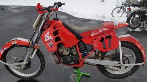 1989 Honda CR Red for sale craigslist