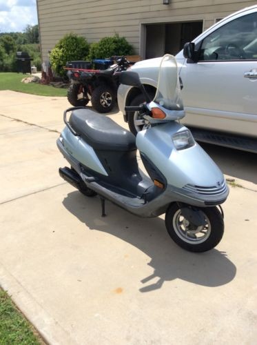 1989 Honda elite 250 Silver for sale craigslist