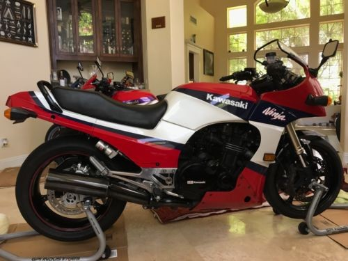 1989 Kawasaki Ninja Red for sale craigslist