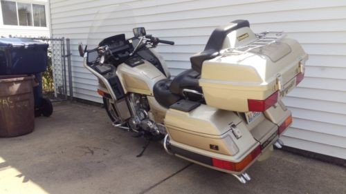 1989 Kawasaki Voyager XII Gold for sale craigslist