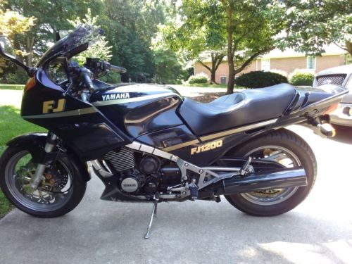 1989 Yamaha FJ1200 Dark Metallic Blue for sale