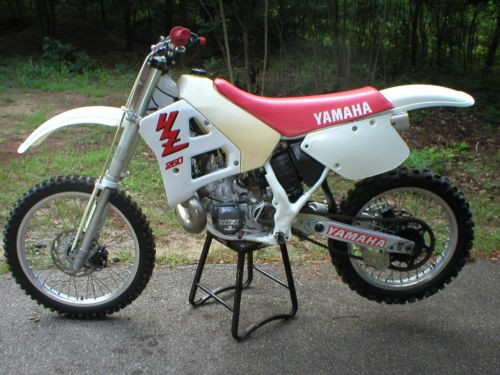 1989 Yamaha YZ White for sale