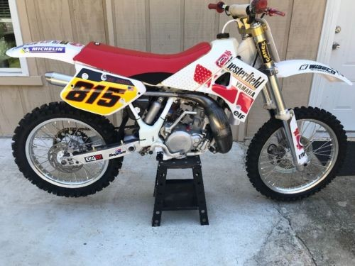 1989 Yamaha YZ White for sale craigslist
