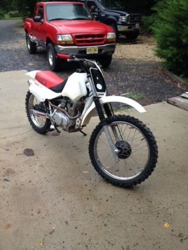 1990 Honda XR Red for sale craigslist