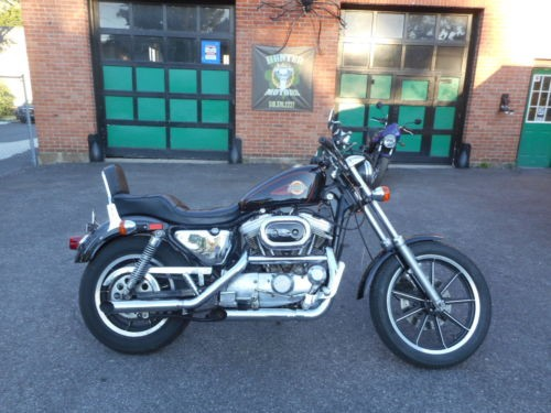 1991 Harley-Davidson Sportster Black for sale