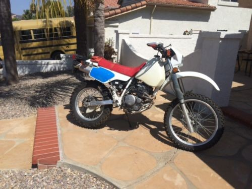 1991 Honda XR 250 White for sale craigslist