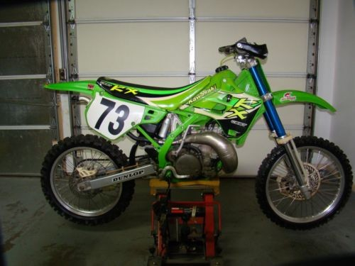 1991 Kawasaki KX Green for sale