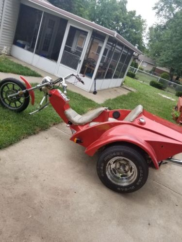 1992 Assembled Volkswagen Trike Motorcycle Orange craigslist