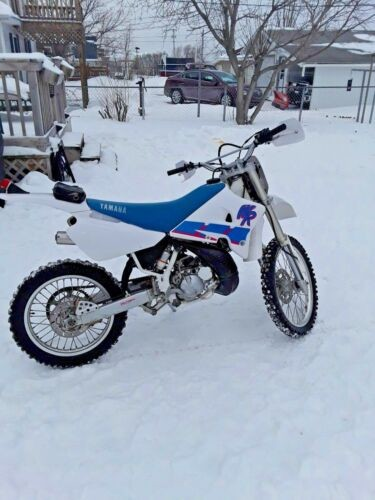 1992 Yamaha WR White for sale craigslist