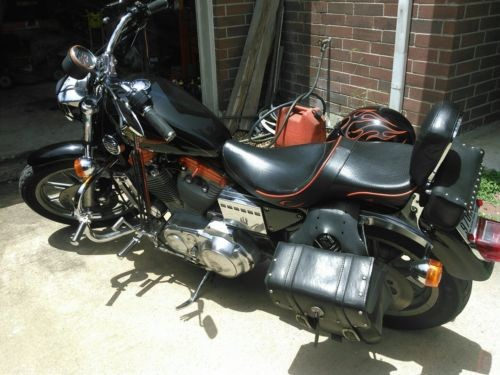 1993 Harley-Davidson Sportster Black photo