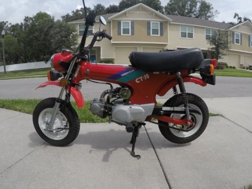 1993 Honda CT Red for sale craigslist
