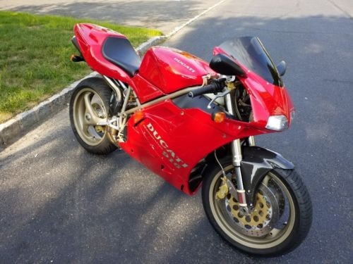 1995 Ducati Superbike Red for sale craigslist
