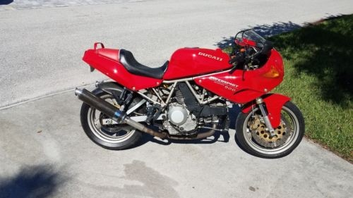 1995 Ducati Supersport RED craigslist