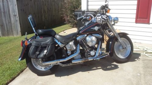 1995 Harley-Davidson Softail Black for sale