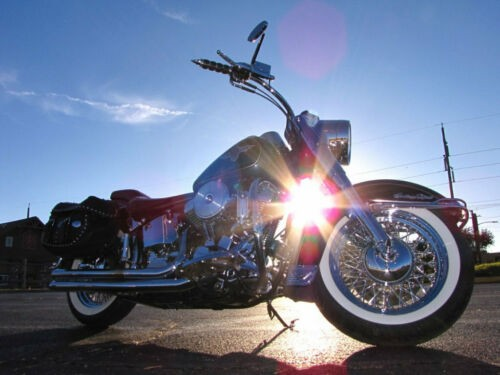 1995 Harley-Davidson Softail DELUXE FLSTN Silver for sale