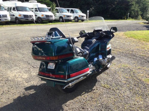 1995 Honda Gold Wing Teal for sale craigslist
