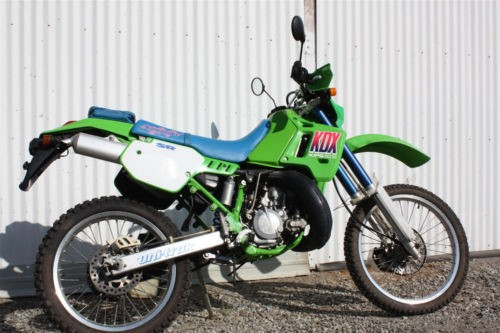 1995 Kawasaki KDX Green for sale craigslist