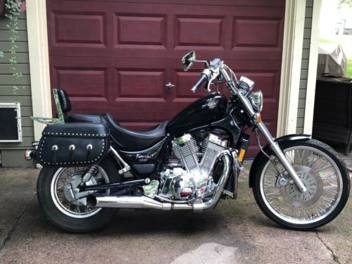 1995 Suzuki Intruder Black with blue metal flake for sale craigslist