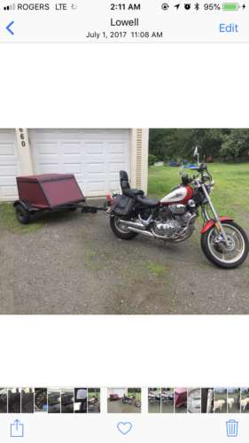 1995 Yamaha Virago red for sale craigslist
