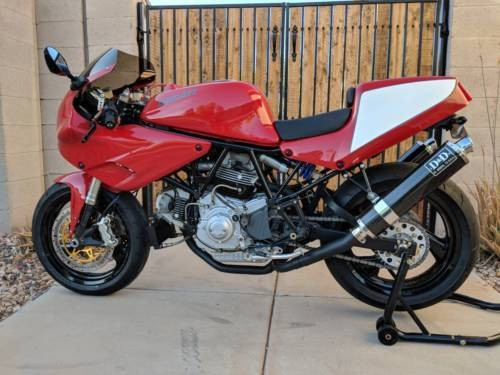 1996 Ducati Supersport Red, White, Black craigslist