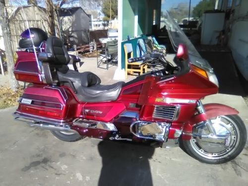 1996 Honda Gold Wing Burgundy for sale