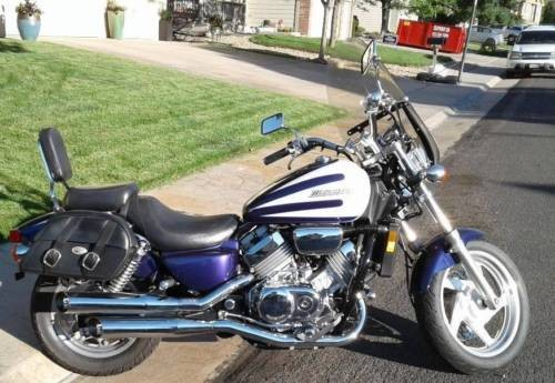 1996 Honda Magna White for sale