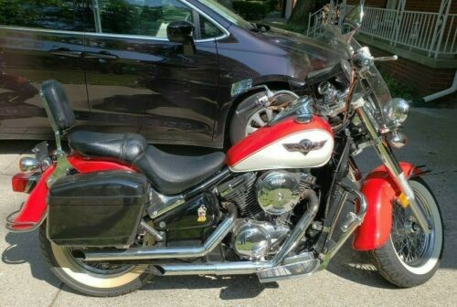 1996 Kawasaki Vulcan Red for sale craigslist
