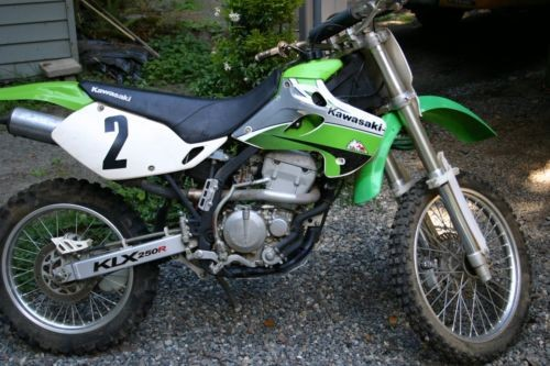 1996 Other Makes KLX250D4 Green craigslist