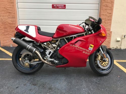 1997 Ducati Supersport Red for sale