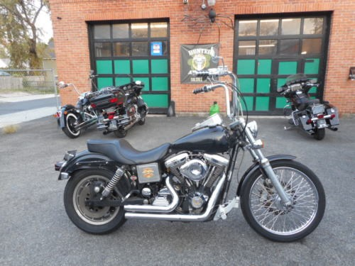 1997 Harley-Davidson Dyna Black for sale craigslist
