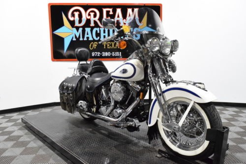 1997 Harley-Davidson FLSTS - Heritage Springer -- White for sale