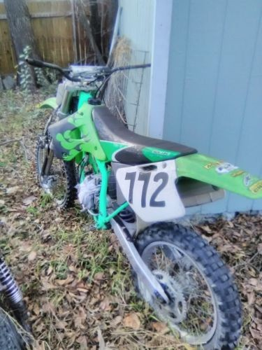 1997 Kawasaki KX Green for sale craigslist