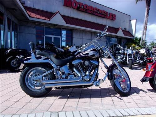 1998 Harley-Davidson Softail -- Black for sale