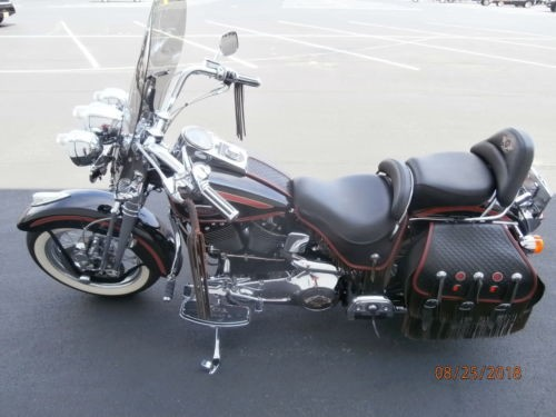 1998 Harley-Davidson Softail Heritage Springer FLSTS Black/Red for sale