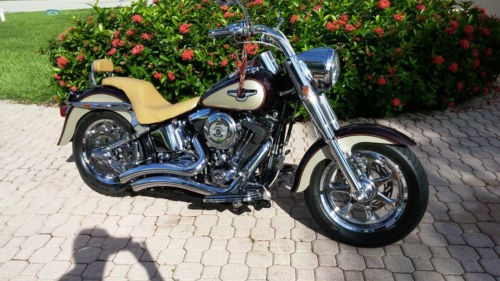 1998 Harley-Davidson Softail Tan for sale craigslist
