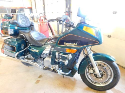 1998 Kawasaki Voyager XII Teal for sale craigslist