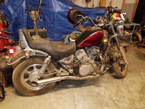1998 Kawasaki Vulcan maron and black for sale craigslist