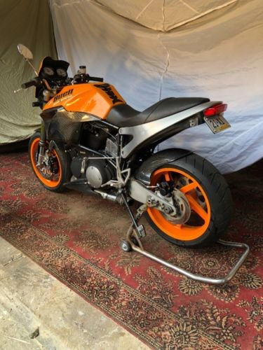 1999 Buell Lightning X1 Orange for sale craigslist