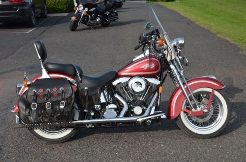 1999 Harley-Davidson Softail Lazer Red Pearl with Diamond Ice Pearl stripe for sale