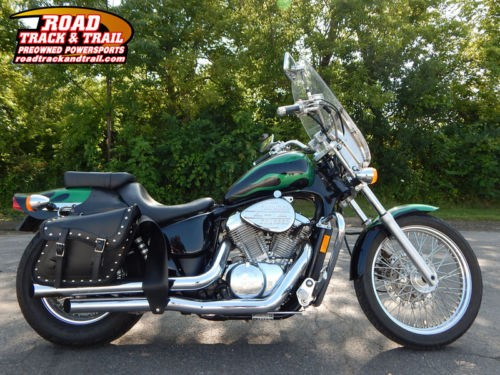 1999 Honda Shadow VLX 600 -- Black photo