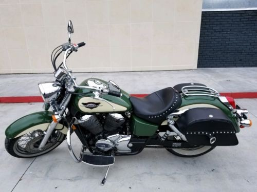 1999 Honda Shadow Green and Cream craigslist