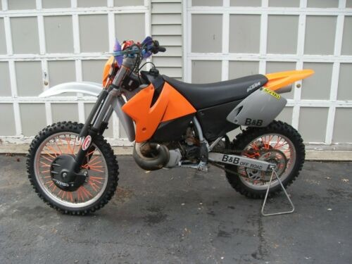 1999 KTM SX Orange for sale craigslist
