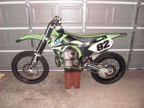 1999 Kawasaki KX Green for sale