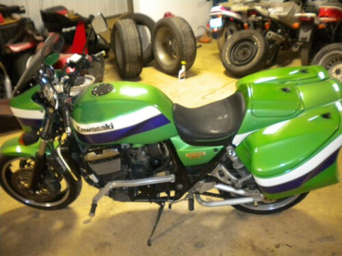 1999 Kawasaki ZRX1100 Green photo