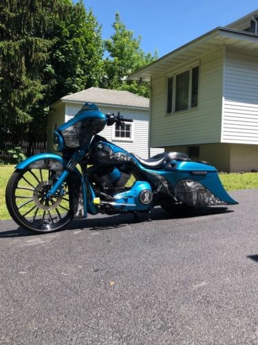 2000 Harley-Davidson Touring Blue for sale
