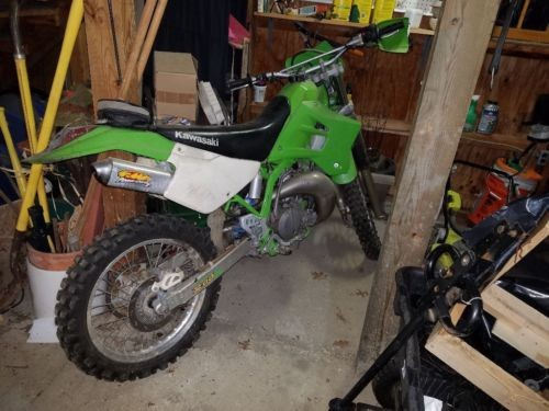 2000 Kawasaki KDX Green for sale
