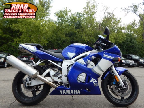 2000 Yamaha R-6 -- Blue photo