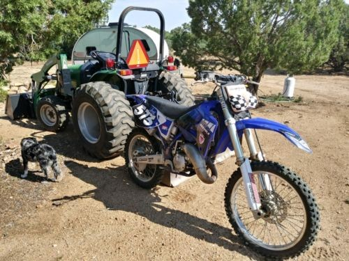 2000 Yamaha YZ Blue for sale